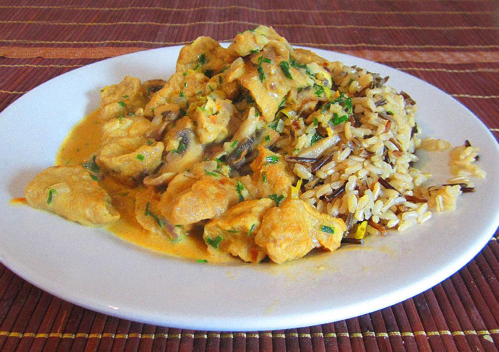 Seitan, Hauptgericht, Vegan Pilzsauce, Rezept
