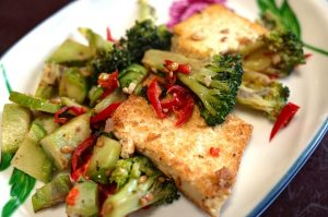 Tofu Grillen, Vegan Grillen, Rasenvresser